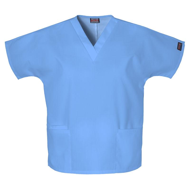 Cherokee Workwear Ladies 2-Pocket V-Neck Top