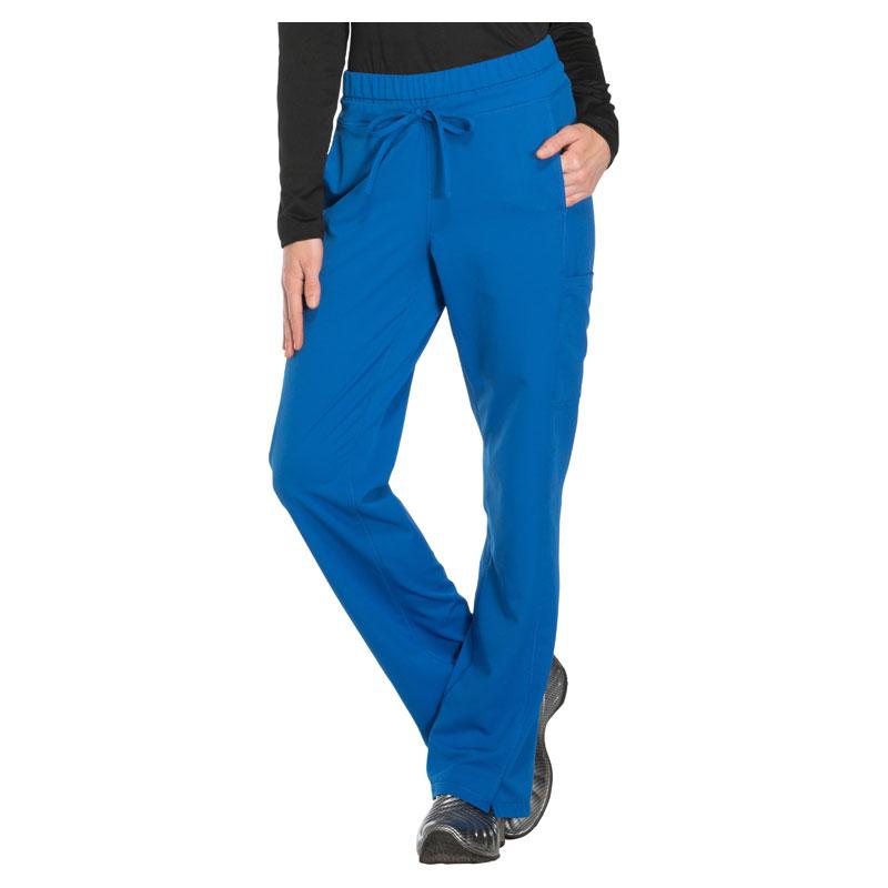 b088a142e48 Dickies Dynamix Ladies Mid Rise Straight Leg Drawstring Pant - Avgerage 30  1/2