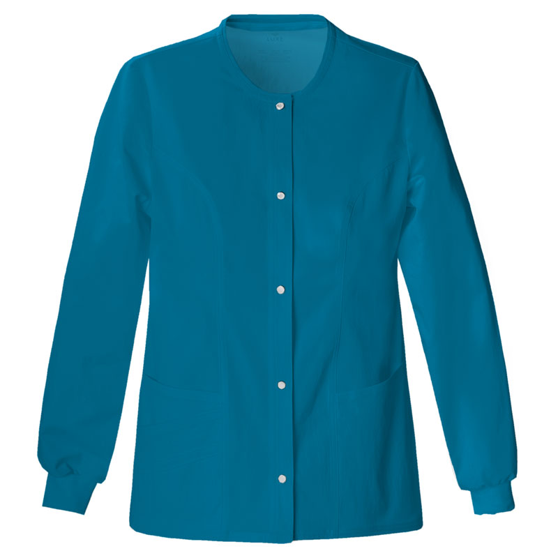 9f52fa9f2c2 Style #71943AN, Cherokee Luxe Ladies Round Neck Warm-Up Jacket ...