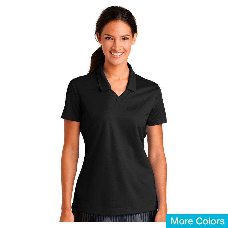 Style #74673, Nike Ladies Dri-FIT Micro Pique Polo   Scrubs ...