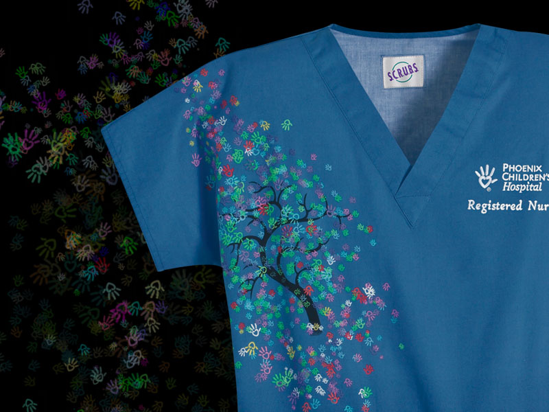 CUSTOM SCRUBS