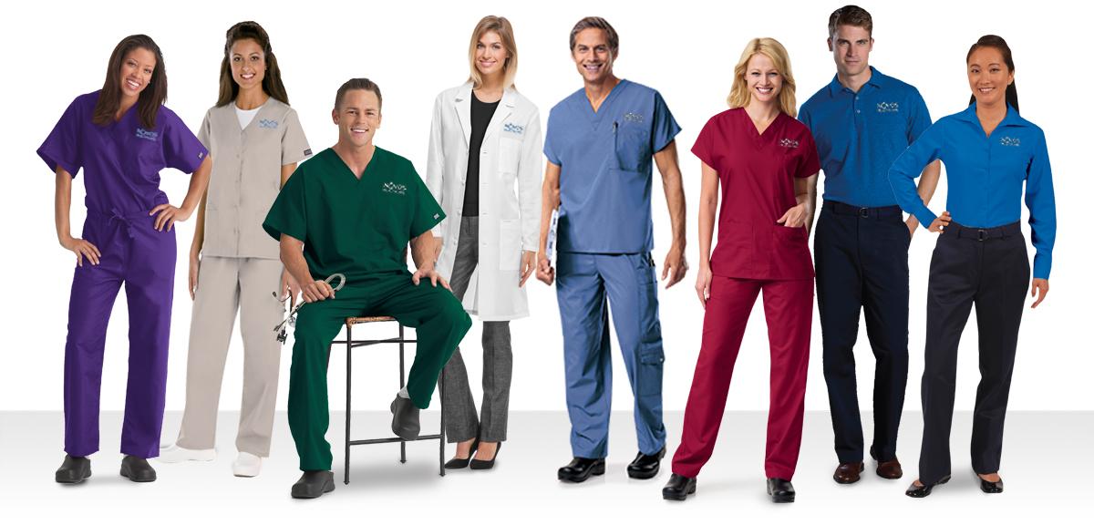 The uniform people